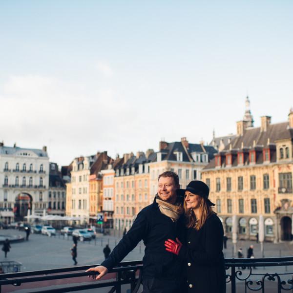 Sarah + Matt - Lille, France