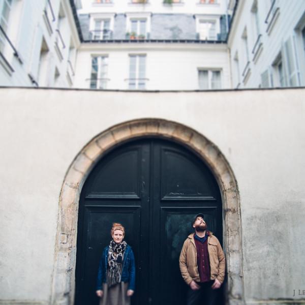 Jenny + Ryan - Paris, France