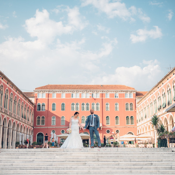Stefanie + Filip - Split, Croatia - Wedding