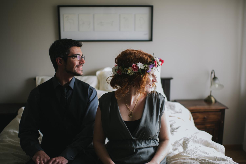 Iceland wedding photography elopement at Skogarfoss waterfalls in Hotel Skogar