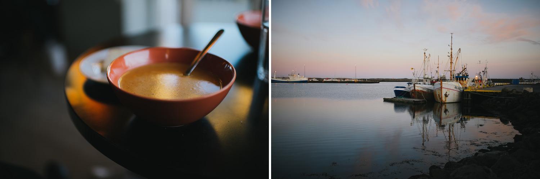 Iceland lobster soup