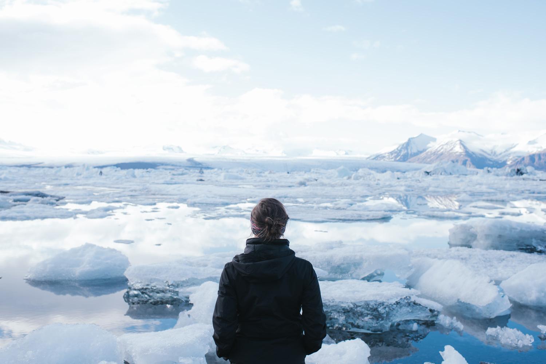 Iceland Travel Elopement Photographer Jokulsarlon Glacier Lagoon