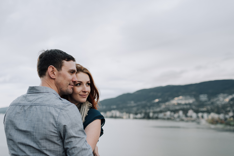 Stanley Park Vancouver couple