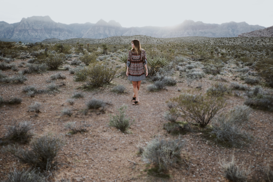 Red Rock, Nevada | Bohemian Portrait