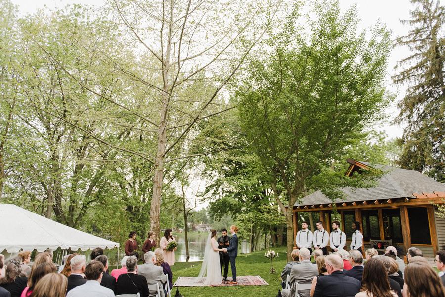 peterborough backyard wedding