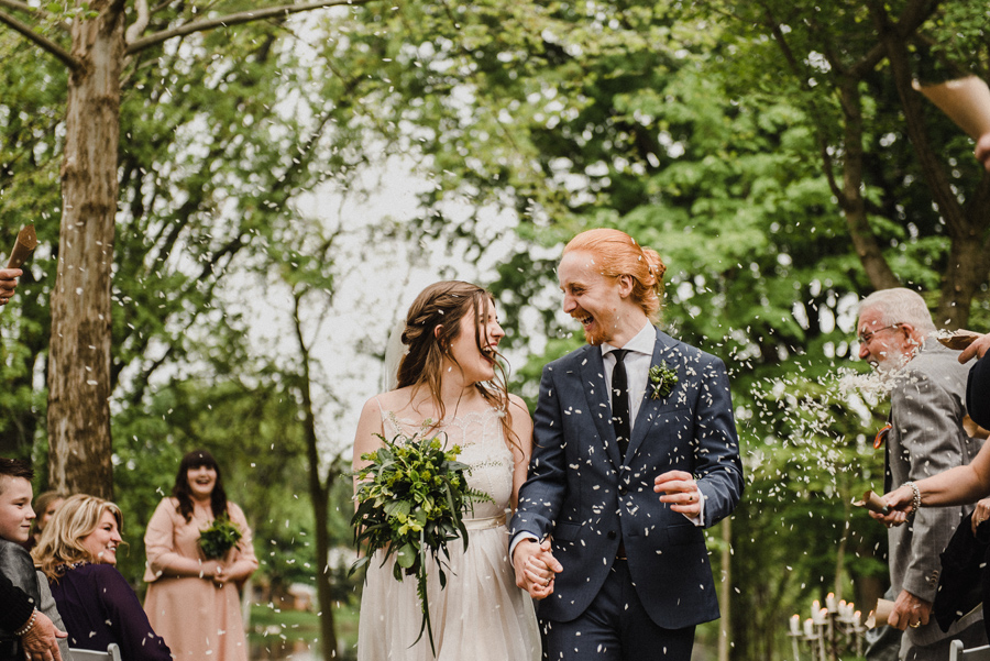 Peterborough Backyard Wedding | Emma + Hart