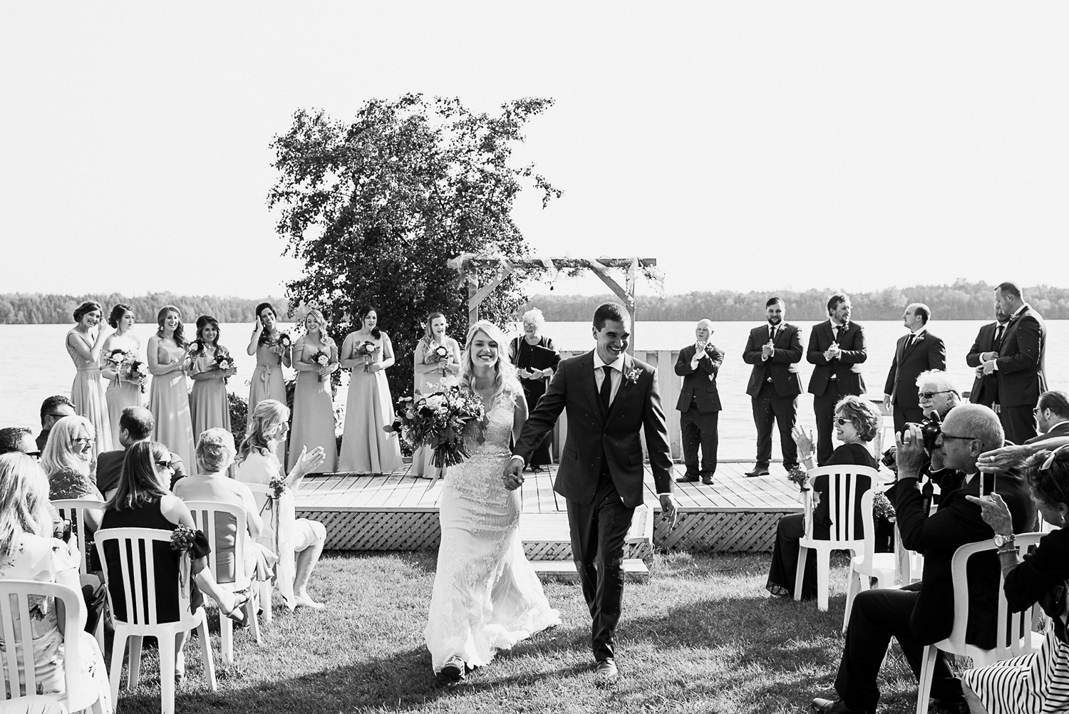 prince Edward county winery wedding