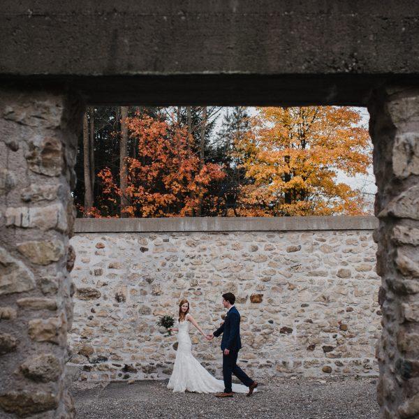Alton Mill Wedding | Alton, Ontario | Danielle & Craig