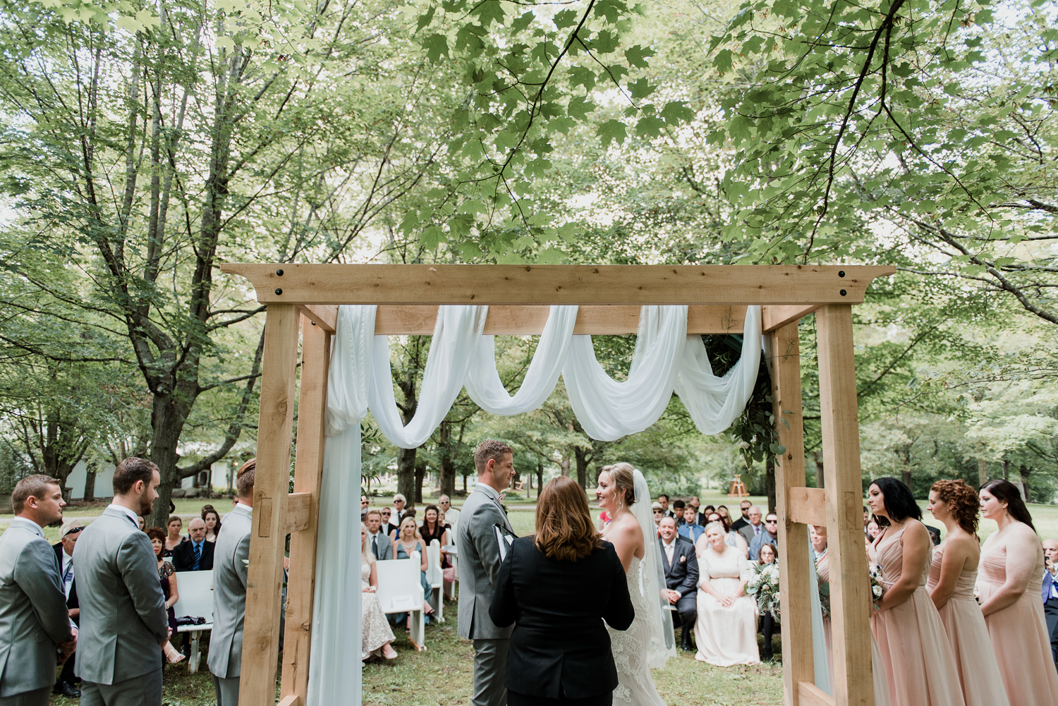 maple farm wedding