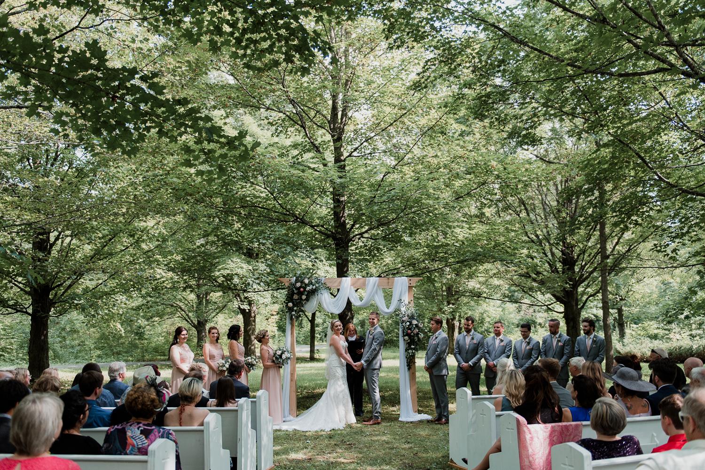 Rustic Ottawa Farm Wedding