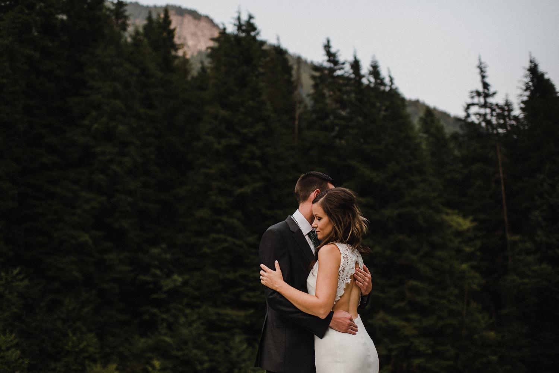 vancouver mountain wedding